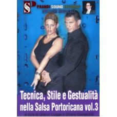 TECNICA,GESTUALITA' PORTORICANA VOL.3