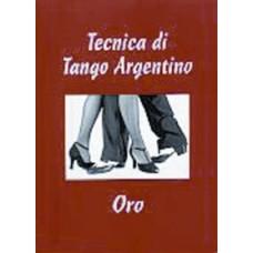 LIBRO TANGO ARGENTINO FIGURE ORO