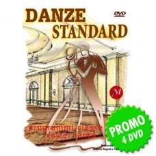 VIDEO B1 DANZE STANDARD - 4 DVD